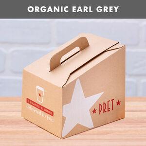Organic Earl Grey Tea Box