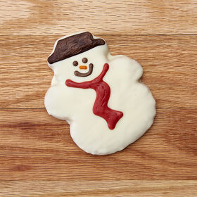 Ollie the Jolly Snowman Cookie