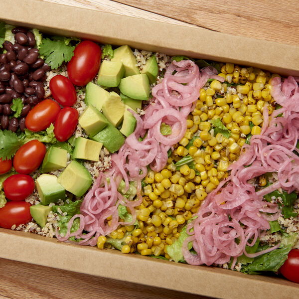 Veggie Fiesta Salad Platter