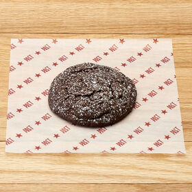 Chocolate Peppermint Crinkle Cookie