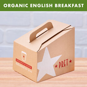 Organic English Breakfast Tea box