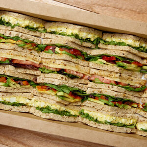 Very Veggie Sandwich Platter