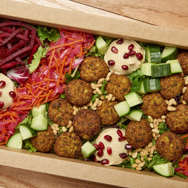 Mediterranean Mezze Salad Platter