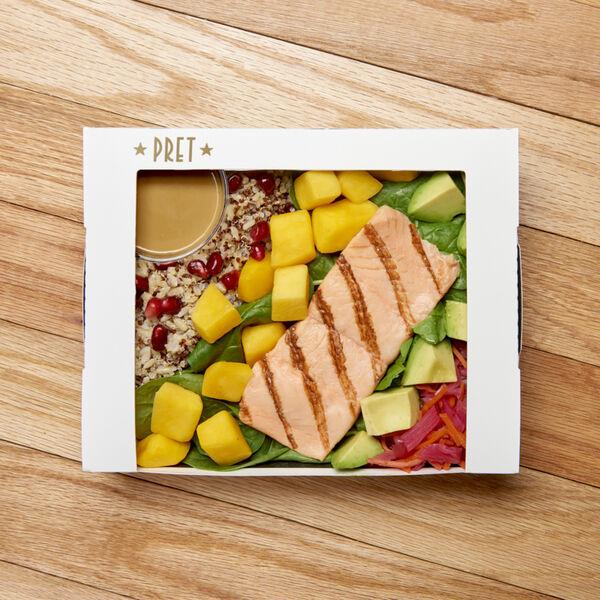 Salmon & Mango Grain Salad