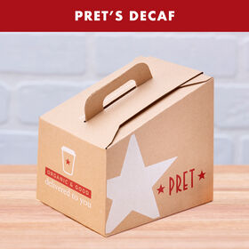 Pret's Decaf Coffee Box