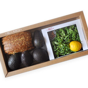 Make Your Own Avocado Tartines Kit