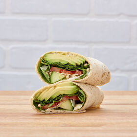 Avocado Pine Nut Wrap