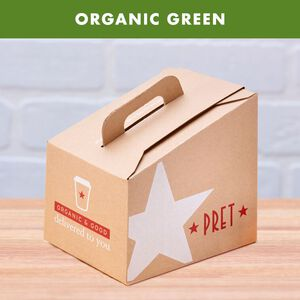 Organic Green Tea Box