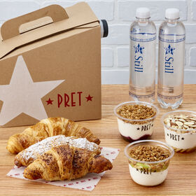 Pret's Continental Breakfast